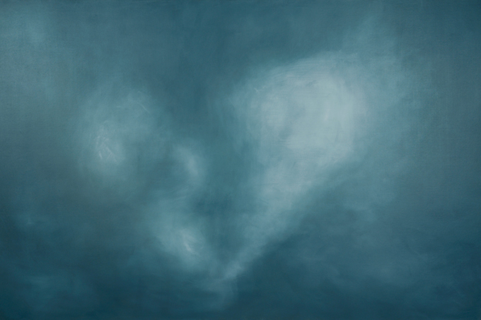 Let's Go Somewhere in The Clouds  40x60  On view at NeXT Restaurant, Stittsville, On